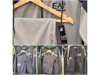 Armani EA7 Tracksuit (not stone island moncler Nike gym king Gucci Ralph Lauren Versace)