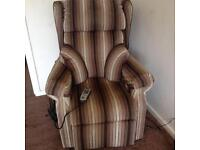 QUICK SALE reclinable chair with several functions plus double sofa