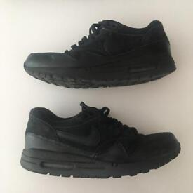 Nike air max 1 all black size 7.5 cheap free shipping
