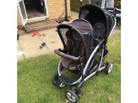 Lovely GRACO DOUBLE Pushchair for sale! £30 ONO