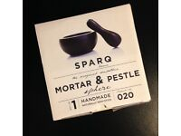 Brand New Packaged Sparq Mortar and Pestle