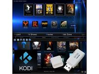 KODI 16.1 Ares Build - 8GB USB for PC - Fully Loaded with Movies, TV, Sports