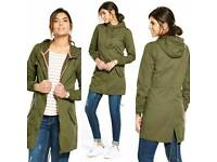 NEW V By Very parka coat jacket at Discount price £20 RRP £48 Size 10