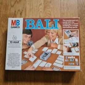 Bali Board Game cc.1981