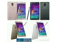 Brand New Samsung Galaxy Note 4 Uk Stock SM-N910F-32GB-Black,White(Unlocked)With Warranty