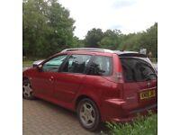 Peugeot SW 206 1.4 5dr Estate