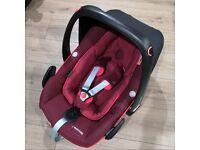 Maxi Cosi pebble plus i-size Car Seat - Robin Red