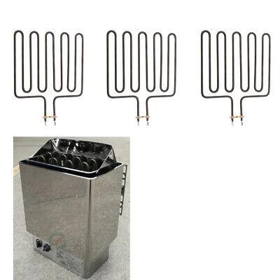 Sauna Heater Stove Heating Element, Set of 3, 2670W