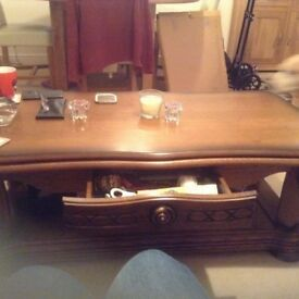 Coffe table solid wood