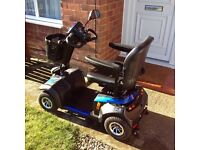 I am selling a blue mobility scooter Ono