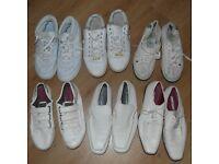 6 pairs men's shoes size 9