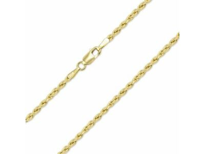 """1//16/"""" Women /& Children 14K Real Yellow Gold Figaro Chain Necklace 1.9mm 24/"""""""