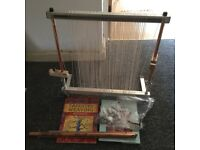 Mirrix tapestry and bead loom