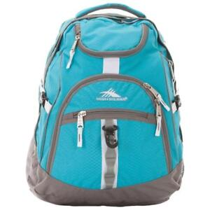 "High Sierra 53671-5898 Access 17"" Laptop Backpack - Tropic Teal/Charcoal/White (New Other)"