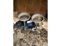 Free Dunelm bar stools