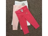 Next set of 3, 3-4 leggings size 3-4yrs BNWT