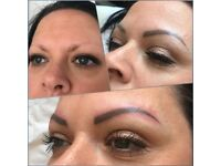 Semi Permanent eyebrows/eyebrow tattoo *limited special offer*