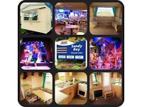🌟🌟MANAGERS SPECIAL 3 BED CARAVAN FOR SALE AT SANDY BAY HOLIDAY PARK OPEN 12 MONTHS LOW FEES🌟🌟