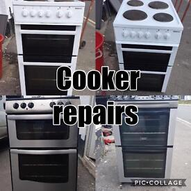 Cooker repairs carried out
