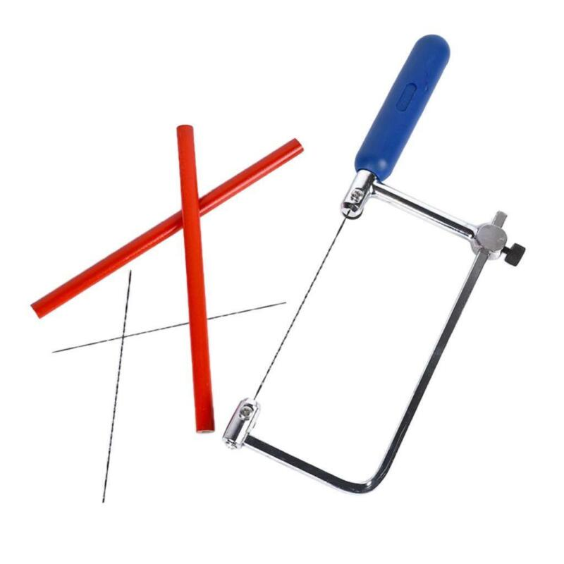 Coping Saw with 3 Blades for Hobby Woodworking Tools