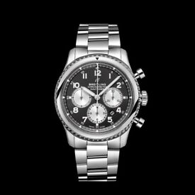 BREITLING - authentic Navitimer 8 Chronograph - mens - unworn/new (original boxes/papers)