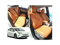 MINICAB LEATHER CAR SEAT COVERS TOYOTA PRIUS TOYOTA AURIS AVENSIS ESTIMA VW SHARAN SKODA OCTAVIA
