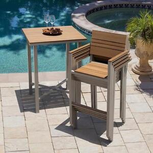 Table style bar pas de chaises (BS015)
