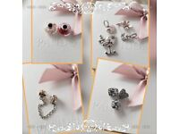 10 Pandora charms all genuine Ale S925 perfect for a xmas gift