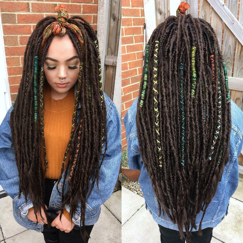 Luscious locks mobile hair extension technician in newton synthetic and natural dreadlock extensions and installation in the north east pmusecretfo Image collections