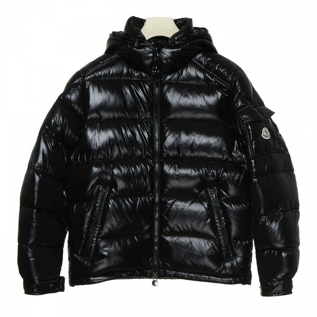 e0636a63b BRAND NEW - Moncler Maya Down Padded Puffa Bomber Glossy Black Winter  Jacket Coat - SMALL MEDIUM | in Carlton, Nottinghamshire | Gumtree