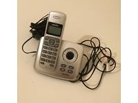 Binatone Silver Cordless Phone with Answering Machine