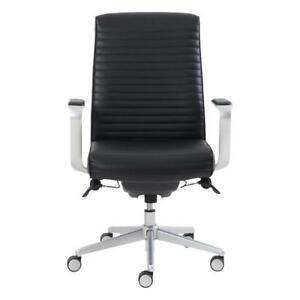 La-Z-Boy 50081 Bonded Leather Manager Chair Black (New Other)