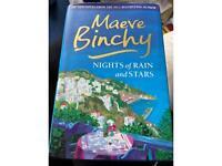 Maeve binchy nights of rain and stars harback book