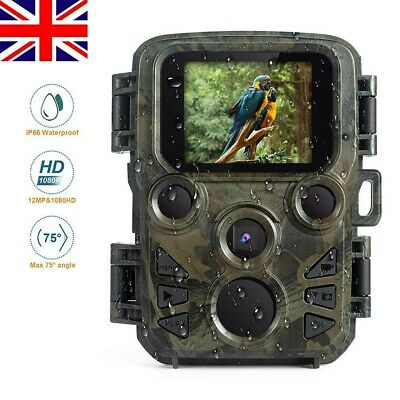 Mini 1080P 20MP Hunting Trail Camera Wildlife Scouting IR Night Waterproof Cam