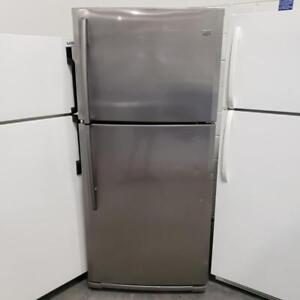 STAINLESS STEEL FRIDGE MAYTAG MODEL M9RXDGFYM10 WITH WARRANTY!