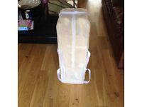 Baby travel cot and travel musical mobile v.g.c