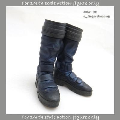 Hot Toys The Amazing Spider-Man 2 ELECTRO Figure 1/6 BLUISH BLACK BOOTS w - Amazing Spider Man Boots