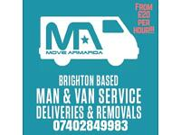 Man & Van **CHEAP** removals **from £20 per hour**