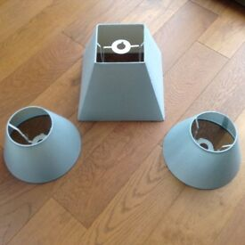 LAMPSHADES DUCK EGG BLUE