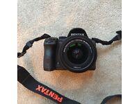 Pentax K-30 16.3MP Digital SLR Camera - Black (with 18-55mm WR Lens Kit)