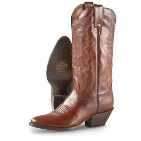 Men's Danpost Mignon Leather Cowboy Boots