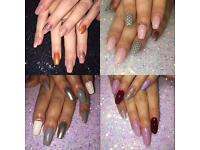 HK Nails - acrylic, gel, extensions, manicure, pedicure
