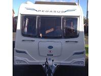 Bailey Pegasus Rimini 2012 touring caravan 4 berth