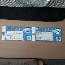 Capital Summertime Ball 2017--- 2 tickets INCLUDES PARKING