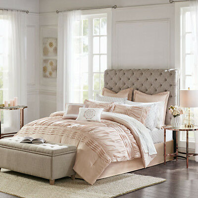 Madison Park Essentials Louisa 16 Piece Complete Bedding Set