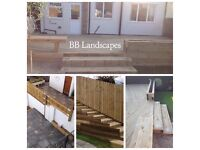 BB Landscape Construction Fencing , Decking , Tree Work , Paving , Garden Tidy Up ,