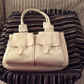 Bag- small off white bag, brand new. Collection only rom Neath area.