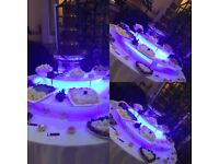 Chocolate fountains,candy floss, photo booths