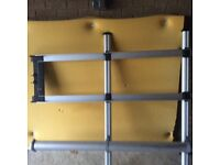 ladder rack with 2metre pipe tube attached universal fit most vans