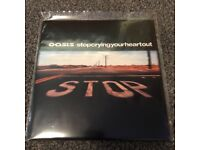 Oasis Stop crying your heart out 7inch vinyl